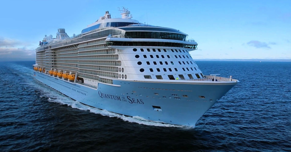 Cruise ship focus - Quantum leap? Not yet!