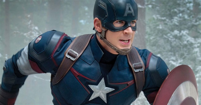 Chris Evans is the Leader of the Pack