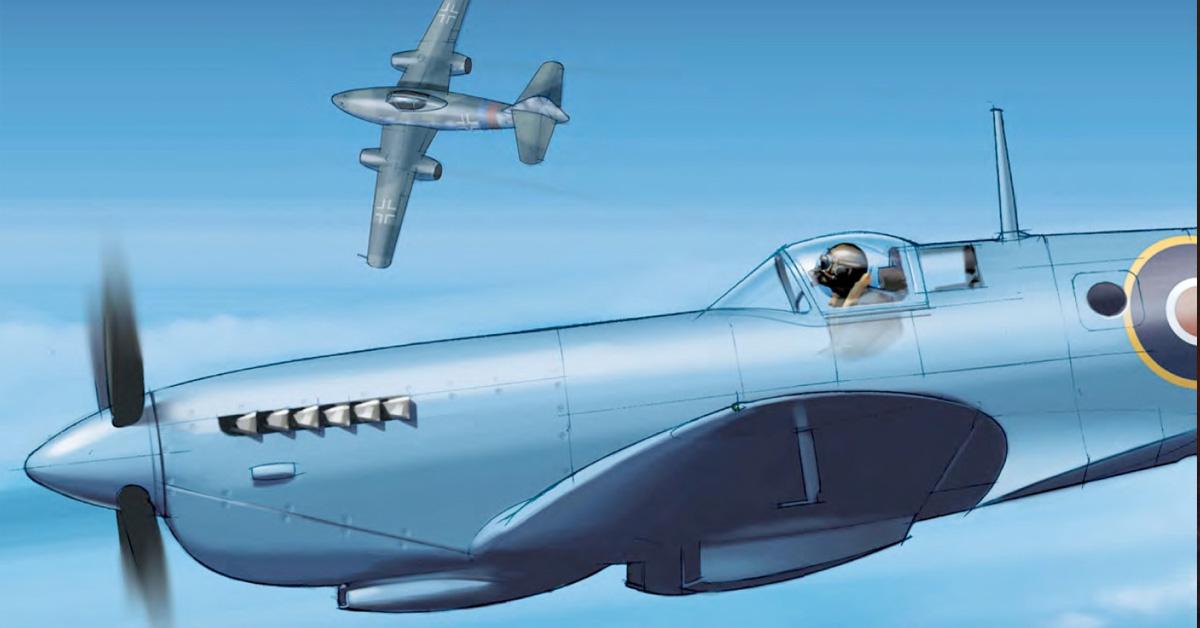 Photo-reconnaissance Spitfire Pilot