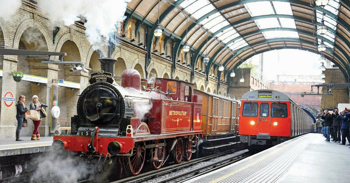 Steam on the Circle Line is a triumph!