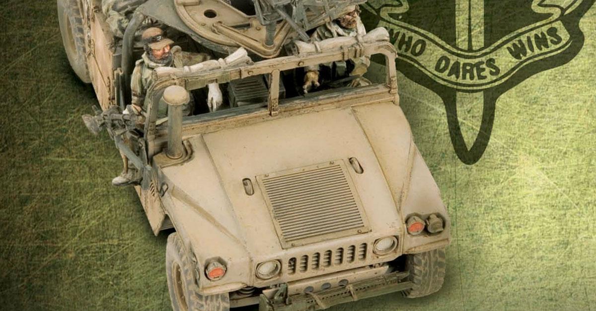 New Zealand special air service Humvee