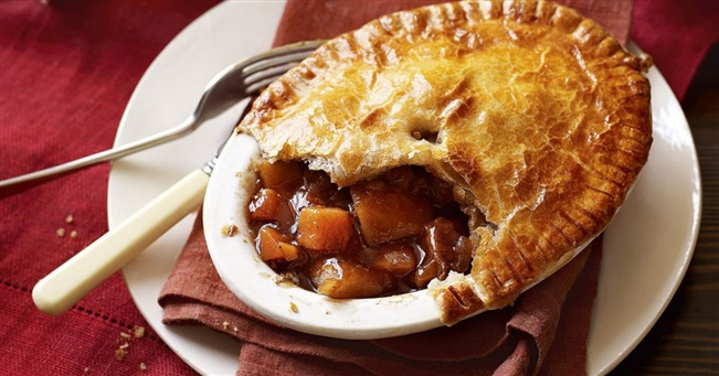 Steak and mushroom pies