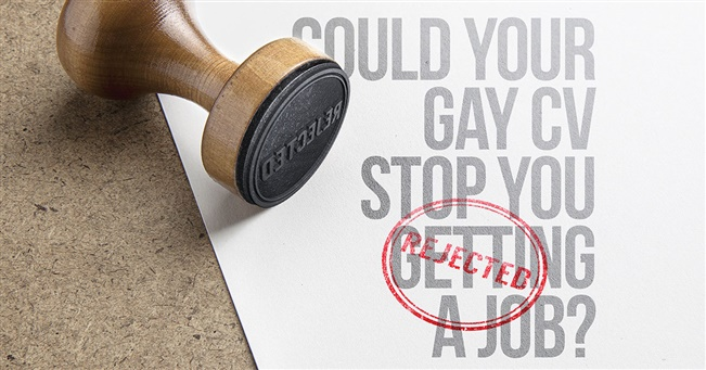 Could Your Gay CV Stop You Getting a Job?