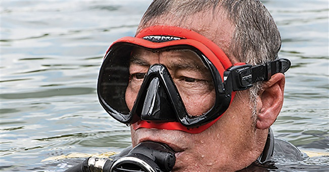 DIVER TESTS – Atomic Venom Frameless Mask