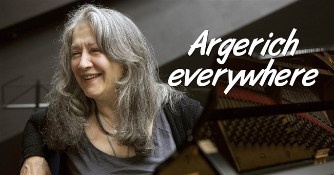 Argerich everywhere
