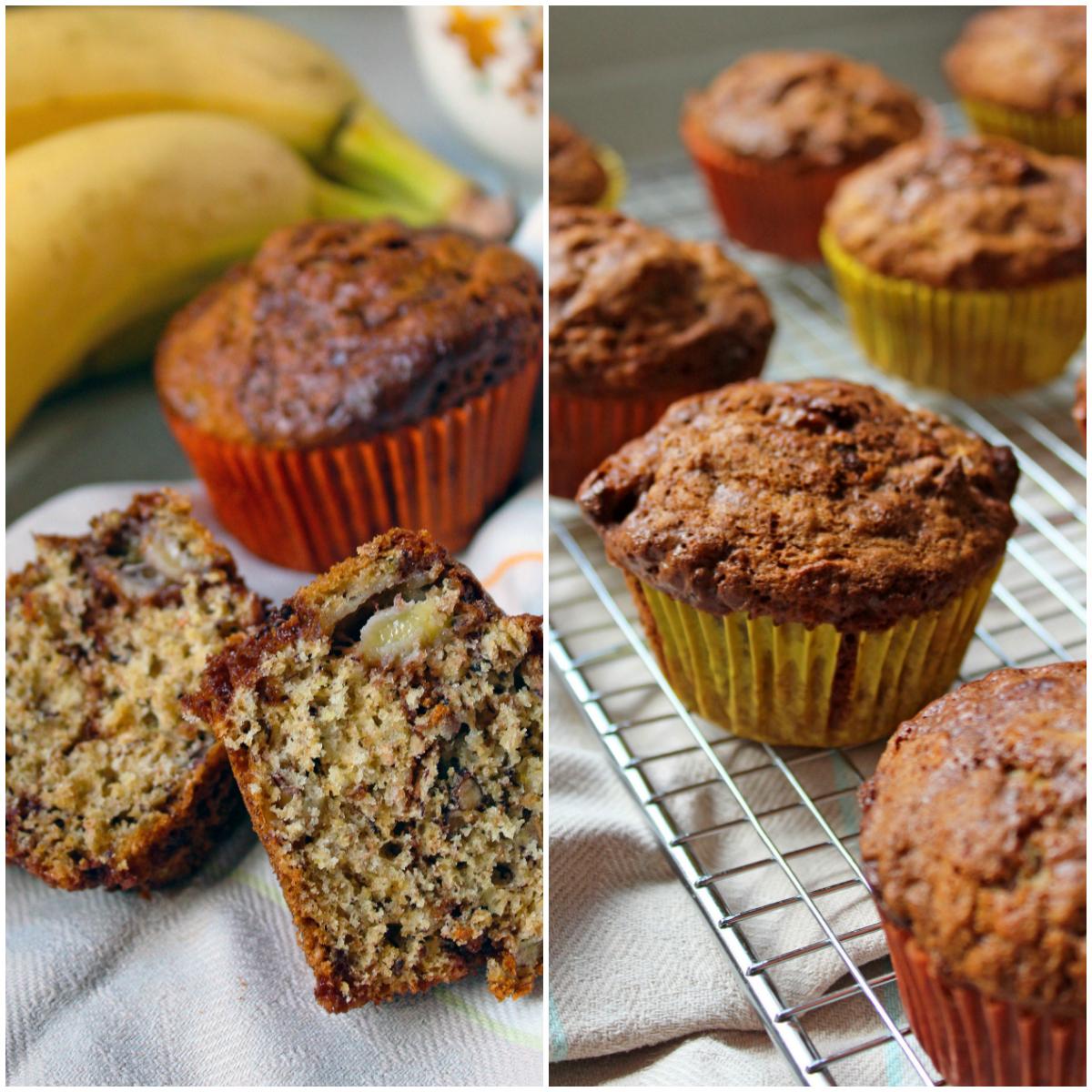Baking Heaven inspired Chocolate Banoffee Muffins
