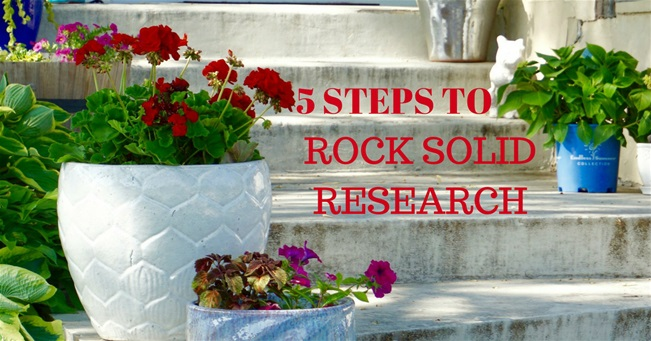5 steps to rock-solid research