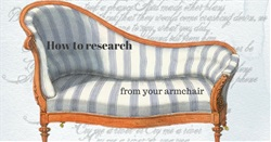 How to research from your armchair