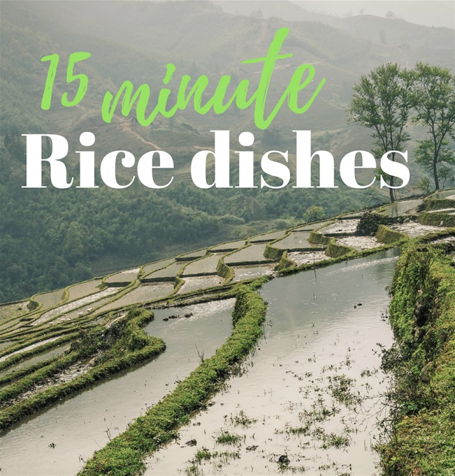 Vegan Food & Living Exclusive: 15 minute rice dishes