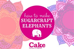 How To Make Sugarcraft Elephants with Cake Decoration & Sugarcraft