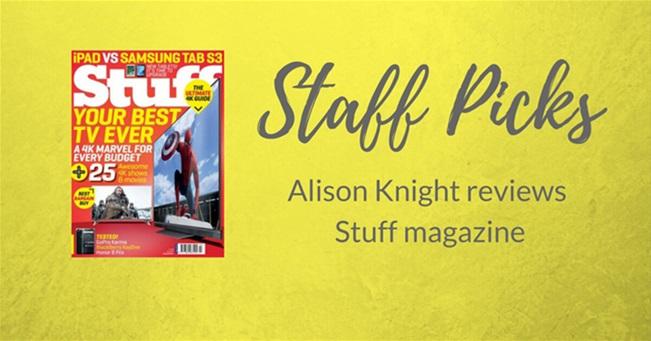 STAFF PICK: Stuff magazine