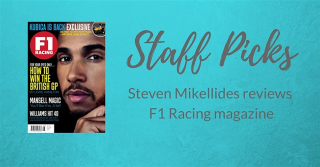 STAFF PICK: F1 Racing magazine