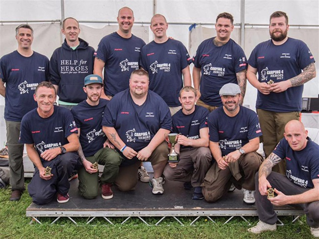 Carping4Heroes weekend raises £10k