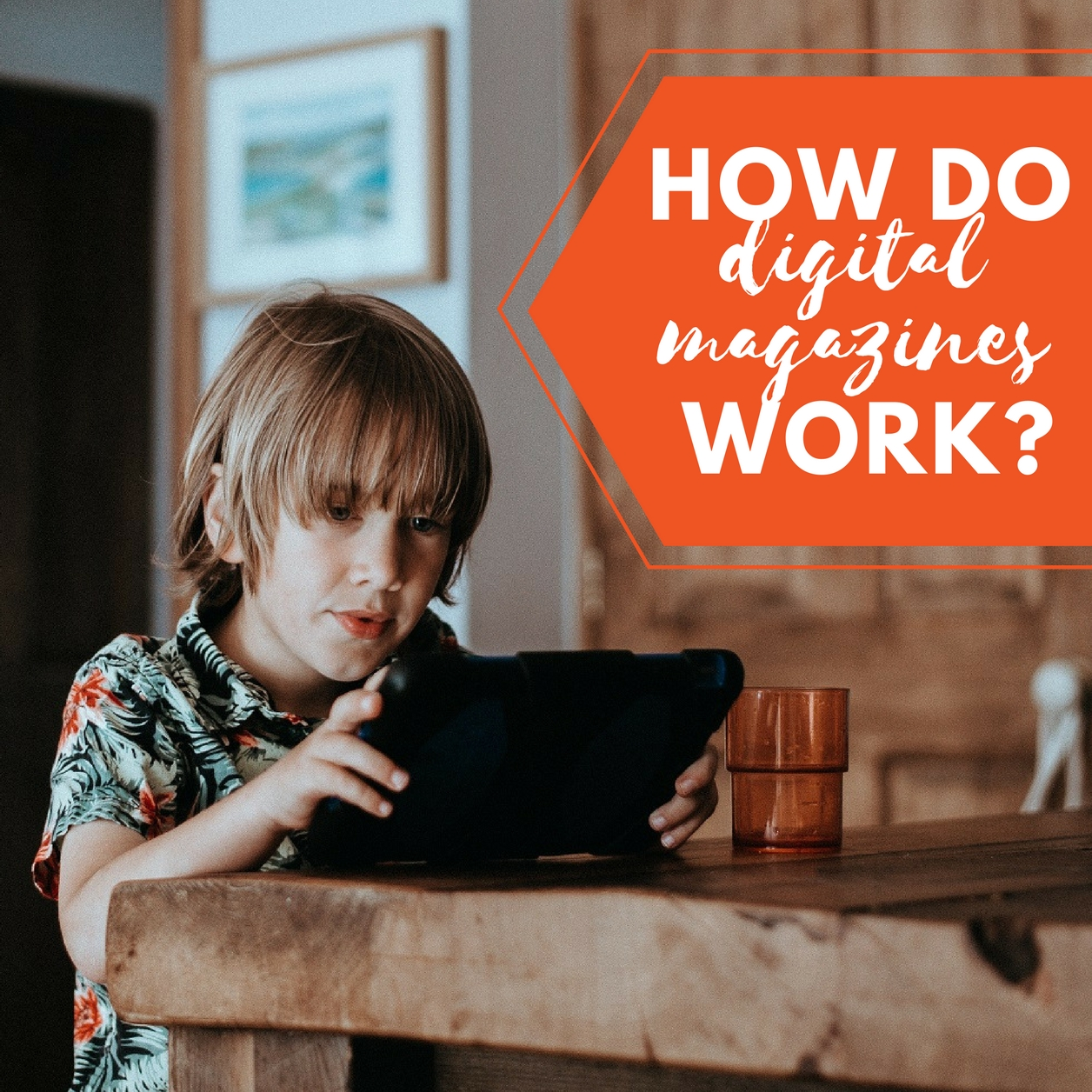 How do digital magazines work?