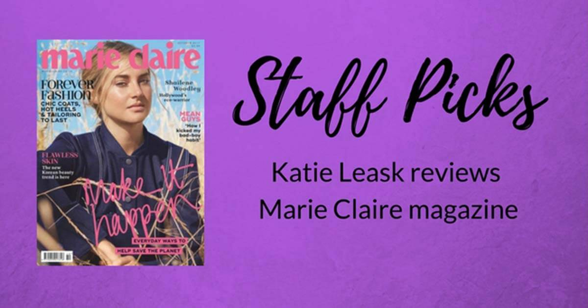 STAFF PICK: Katie Leask