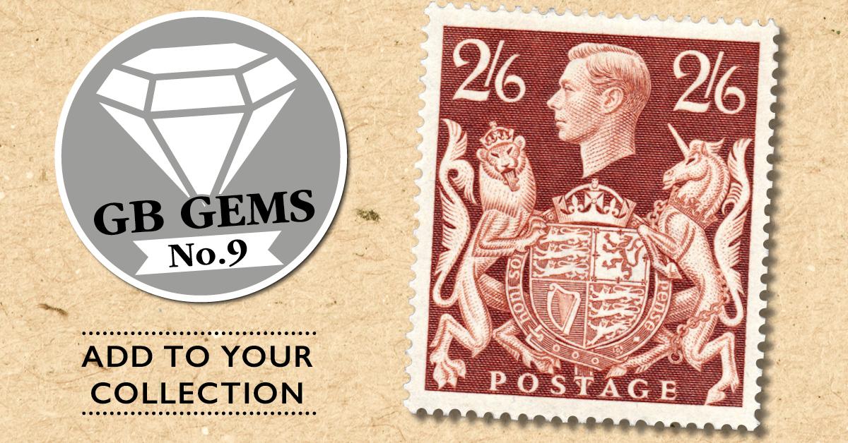King George VI  1939 2s 6d brown