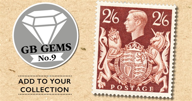 King George VI  1939 2s 6d brown
