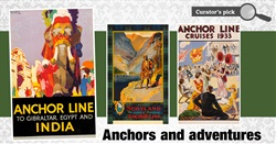 Glasgow Museums' collection  of Anchor Line posters