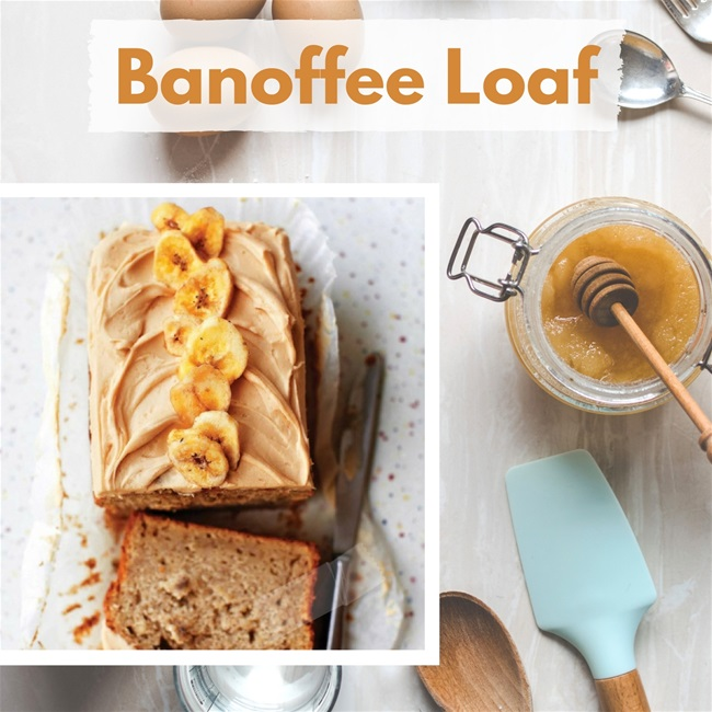 Baking Heaven's Banoffee Loaf