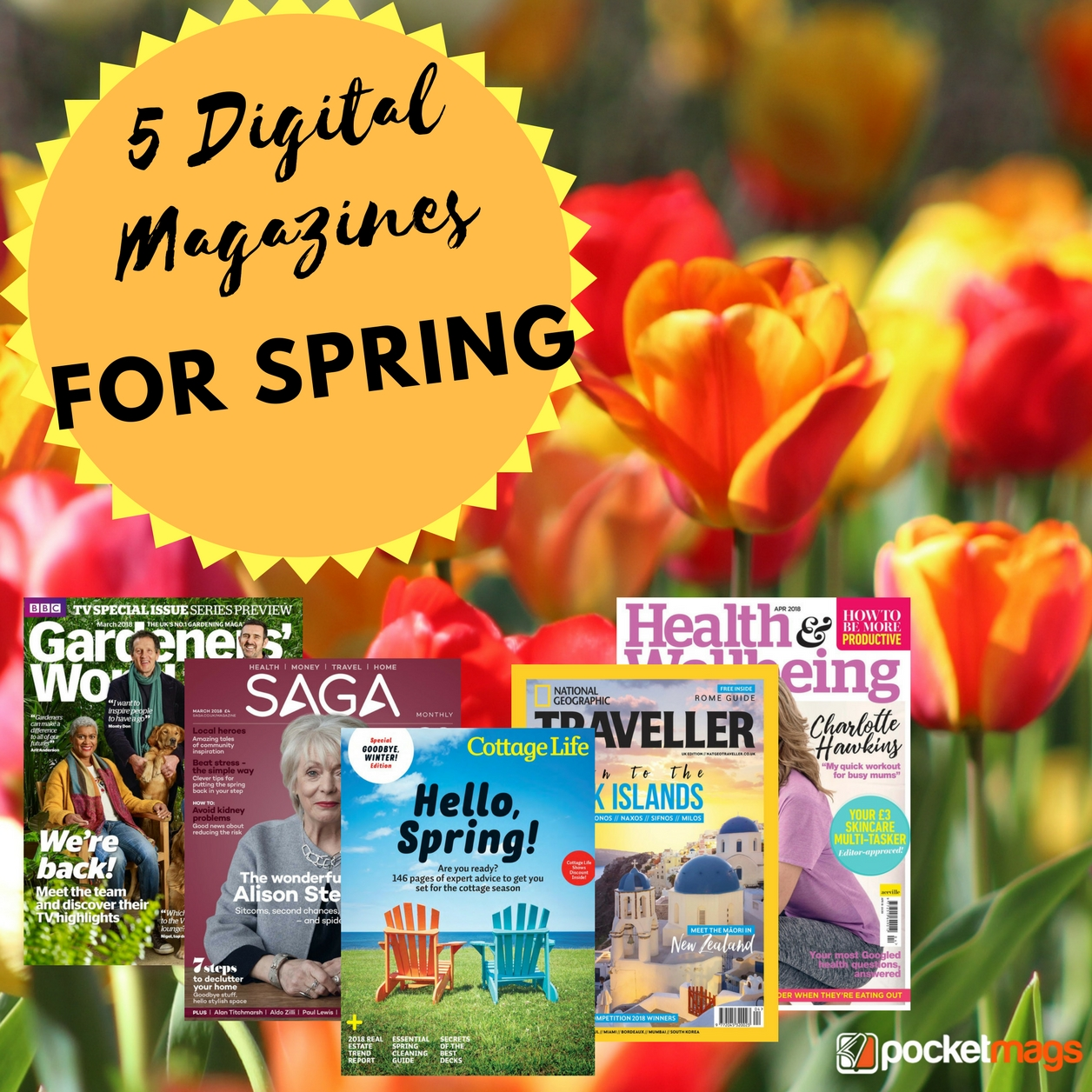 5 Digital Magazines for Spring
