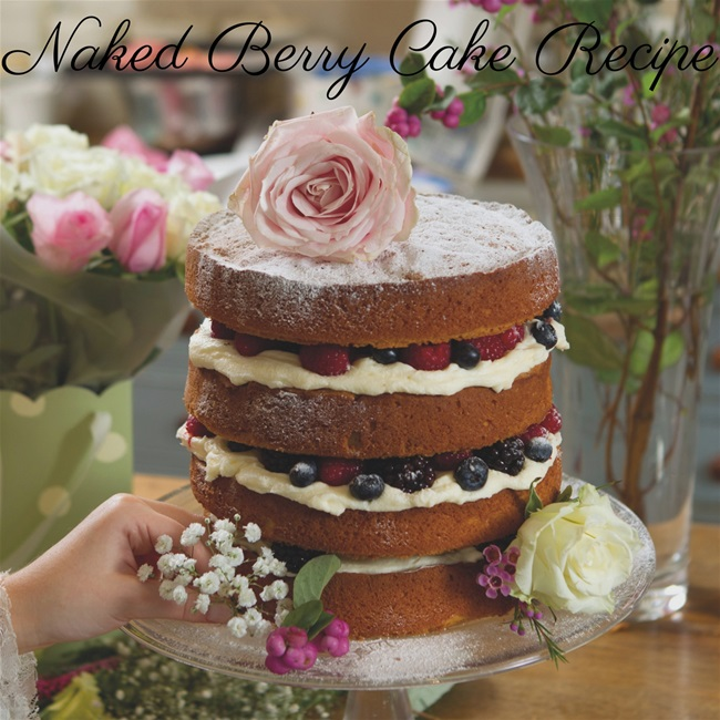 Naked Berry Cake Recipe