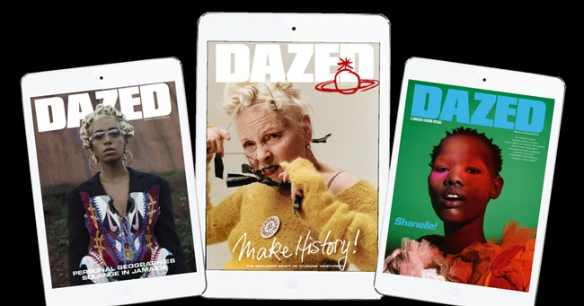 A Review of Dazed Magazine by Pocketmags