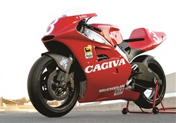 Johnny come lately! Riding the Cagiva V593!