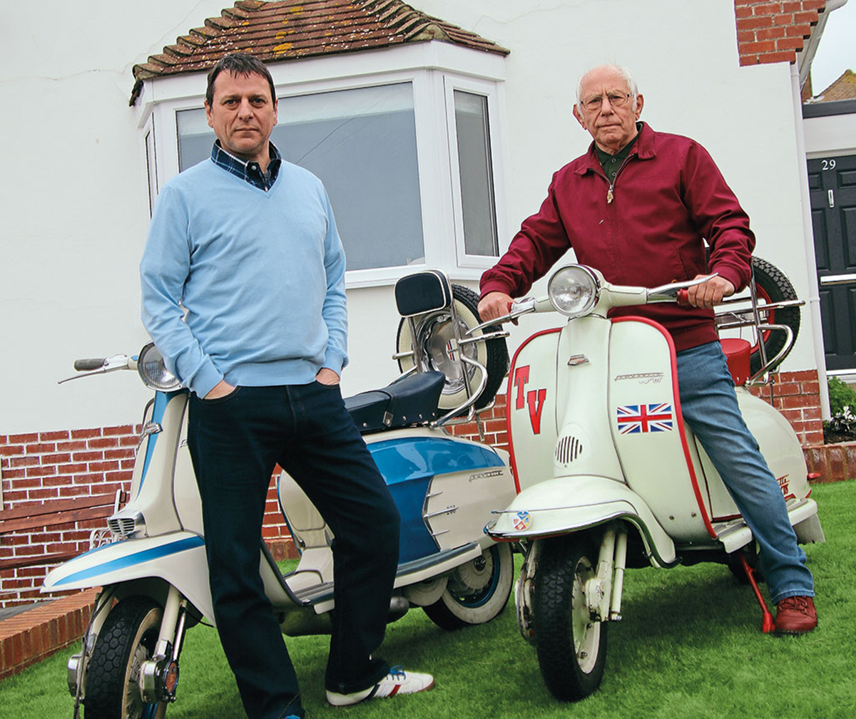 Classic Scooterist: Bonding on two wheels