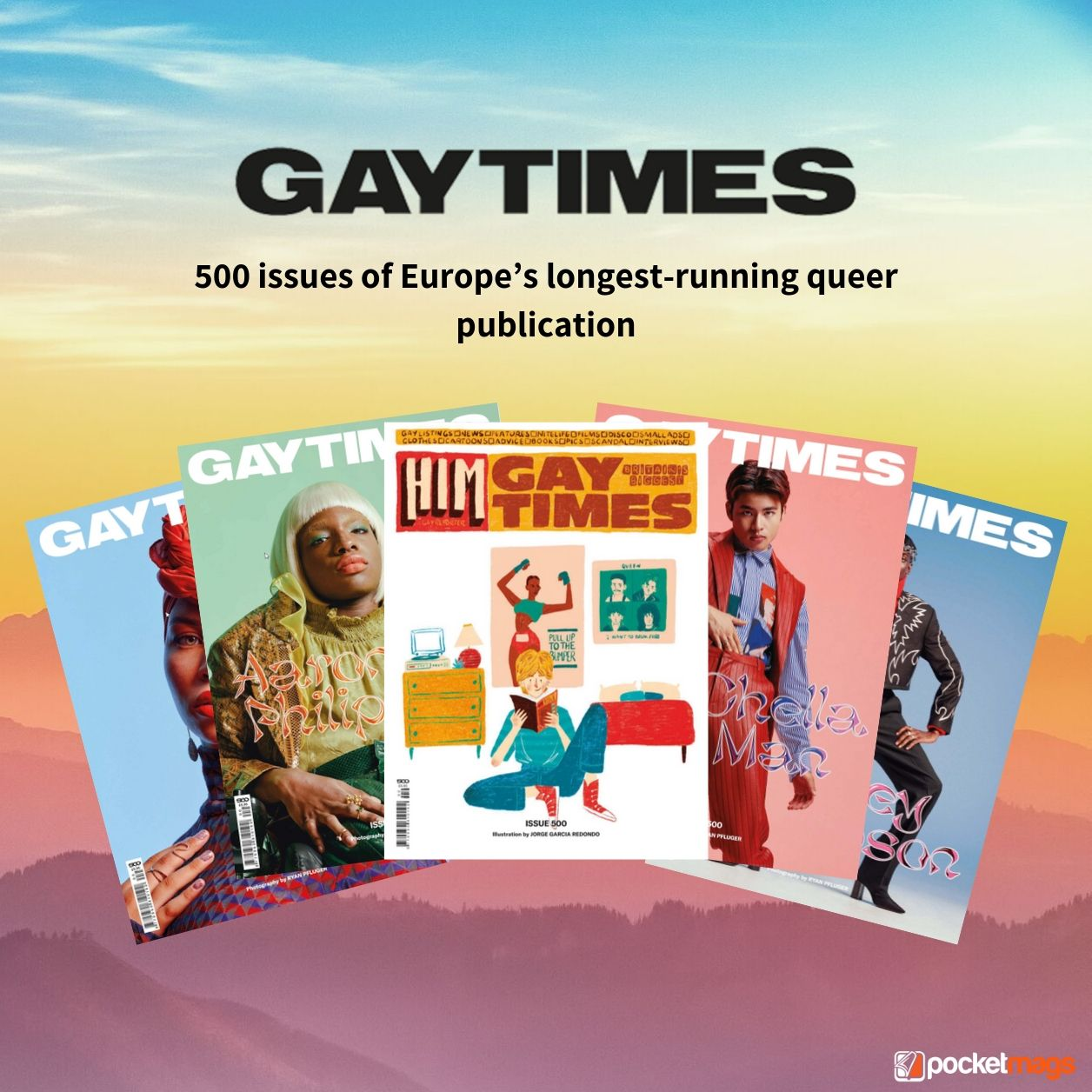 Gay Times: 500 Issues, 35 Years