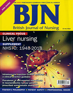Subscription Website - British Journal of Nursing Magazine