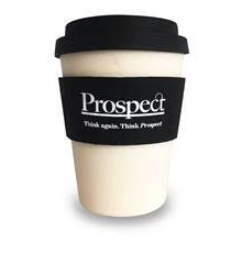 Get a Free Prospect Coffee Cup