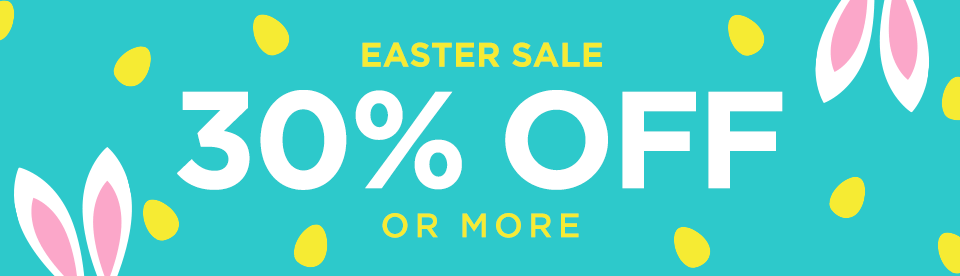 Easter Sale - get 30% or more off subscriptions.
