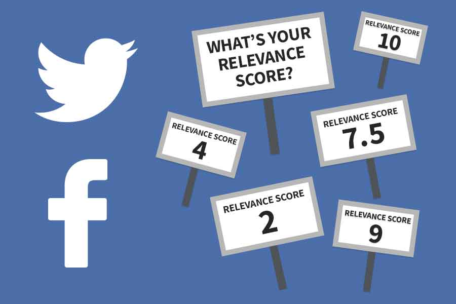 Facebook Relevance Score / Twitter Quality Score
