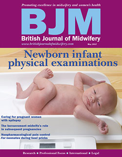 British Journal of Midwifery Magazine