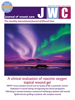 Journal of Wound Care Magazine