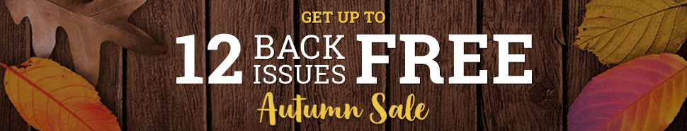 Autumn Back Issue Sale - Entertainment